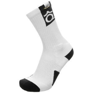 Kevin Durant Elite Crew Socken, weiß / schwarz, zoom bei OUTFITTER Online