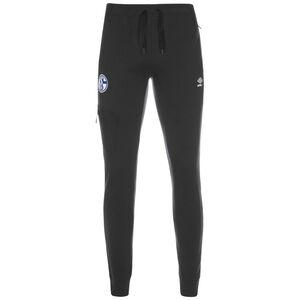 FC Schalke 04 Travel Trainingshose Herren, schwarz / weiß, zoom bei OUTFITTER Online