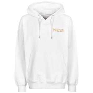 NEO Premium Nomen Est Omen Kapuzenpullover Herren, weiß, zoom bei OUTFITTER Online