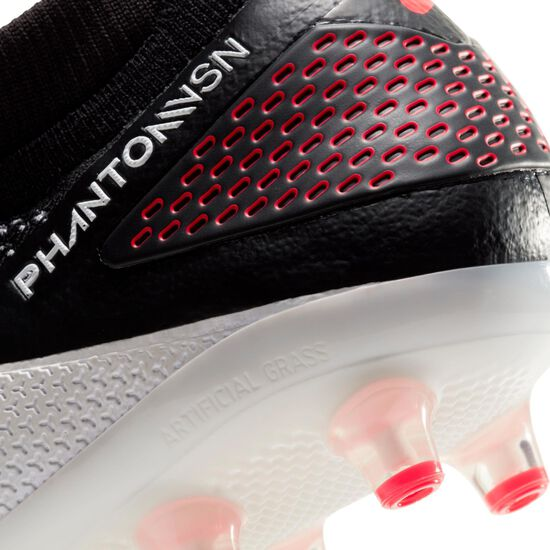 Phantom Vision 2 Elite DF AG-Pro Fußballschuh Herren, weiß / neonrot, zoom bei OUTFITTER Online