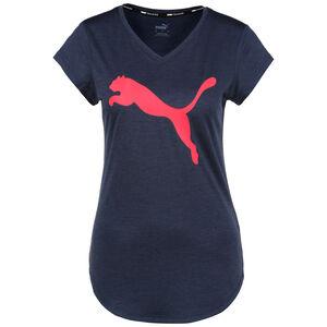 Favourite Heather Cat Trainingsshirt Damen, dunkelblau / pink, zoom bei OUTFITTER Online