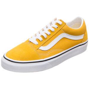 Old Skool Sneaker Damen, gelb / weiß, zoom bei OUTFITTER Online