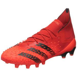 Predator Freak .1 AG Fußballschuh Herren, rot / schwarz, zoom bei OUTFITTER Online