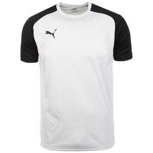 Cup Trainingsshirt Herren, weiß / schwarz, zoom bei OUTFITTER Online