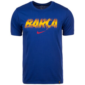 FC Barcelona Dry T-Shirt Herren, Blau, zoom bei OUTFITTER Online