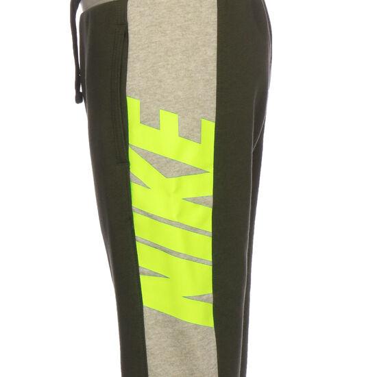 Sportswear Jogginghose Kinder, khaki / neongrün, zoom bei OUTFITTER Online