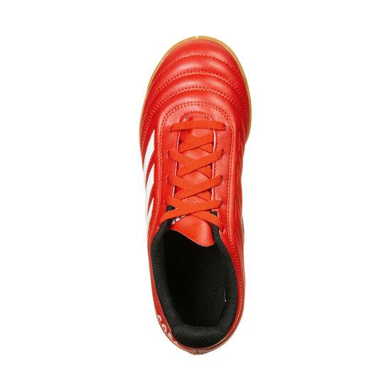Copa 20.4 Indoor Fußballschuh Kinder, rot / schwarz, zoom bei OUTFITTER Online