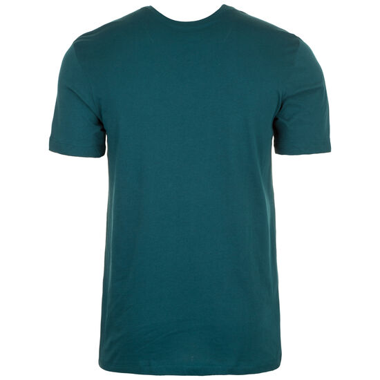 Swoosh T-Shirt Herren, petrol / weiß, zoom bei OUTFITTER Online