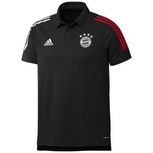 FC Bayern München Poloshirt Herren, schwarz / rot, zoom bei OUTFITTER Online