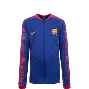 FC Barcelona Anthem Jacke Kinder, Blau, zoom bei OUTFITTER Online