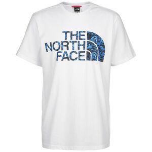 Standard T-Shirt Herren, weiß / blau, zoom bei OUTFITTER Online