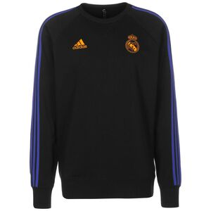 Real Madrid Trainingssweat Herren, schwarz, zoom bei OUTFITTER Online