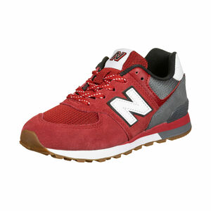 PC574-M Sneaker Kinder, rot / grau, zoom bei OUTFITTER Online
