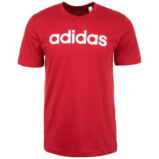 Essentials Linear Logo Trainingsshirt Herren, dunkelrot, zoom bei OUTFITTER Online