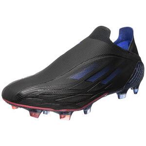 X Speedflow+ FG Fußballschuh Herren, schwarz / blau, zoom bei OUTFITTER Online