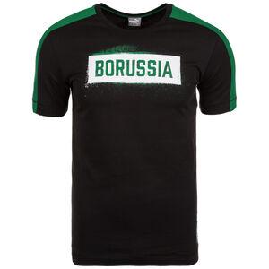 Borussia Mönchengladbach T7 Stencil T-Shirt Herren, Schwarz, zoom bei OUTFITTER Online