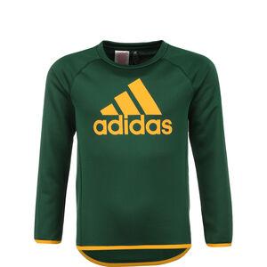 Big Logo Sweatshirt Kinder, grün / gelb, zoom bei OUTFITTER Online