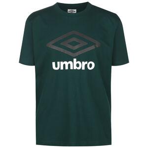 Large Logo Trainingsshirt Herren, dunkelgrün / schwarz, zoom bei OUTFITTER Online