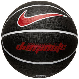 Dominate 8P Basketball, schwarz / rot, zoom bei OUTFITTER Online