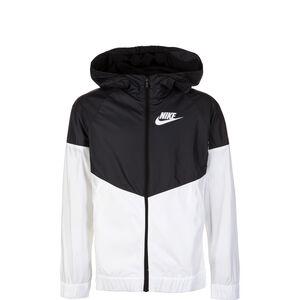 Sportswear Windrunner Kinder, schwarz / weiß, zoom bei OUTFITTER Online