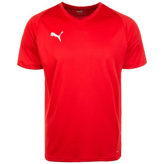 Liga Core Fußballtrikot Herren, rot / weiß, zoom bei OUTFITTER Online