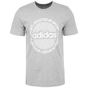 CRCLD Graphic T-Shirt Herren, grau / weiß, zoom bei OUTFITTER Online