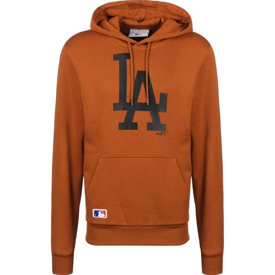 MLB Seasonal Team Logo LA Dodgers Kapuzenpullover, braun / anthrazit, zoom bei OUTFITTER Online