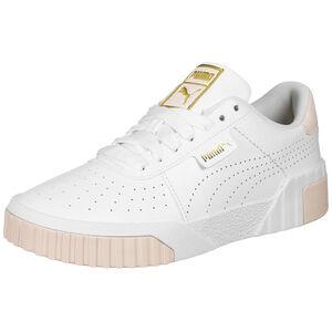 Cali Performance Sneaker Damen, weiß / gold, zoom bei OUTFITTER Online