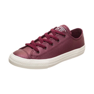Chuck Taylor All Star Metallic OX Sneaker Kinder, Rot, zoom bei OUTFITTER Online