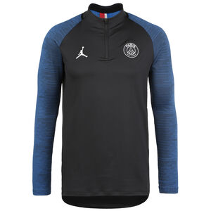 Paris St.-Germain Jordan Strike Drill Trainingsshirt Herren, schwarz / blau, zoom bei OUTFITTER Online