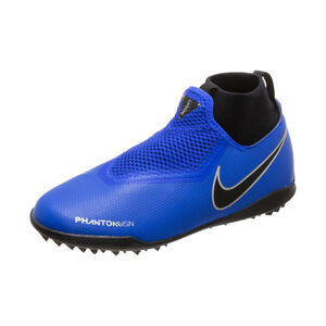 Phantom Vision Academy DF TF Fußballschuh Kinder, blau / schwarz, zoom bei OUTFITTER Online
