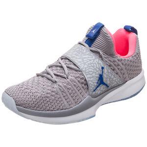 Jordan Trainer 2 Flyknit Sneaker Herren, Grau, zoom bei OUTFITTER Online