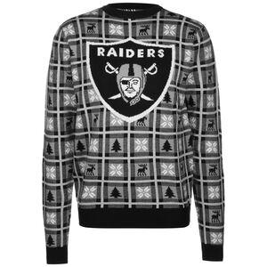 NFL Oakland Riders Big Logo Sweatshirt Herren, schwarz / weiß, zoom bei OUTFITTER Online