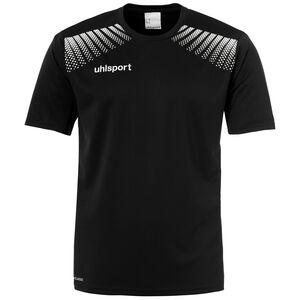 Goal Trainingsshirt Herren, schwarz / weiß, zoom bei OUTFITTER Online