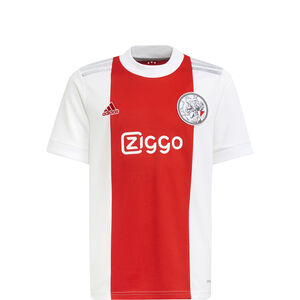 Ajax Amsterdam Trikot Home 2021/2022 Kinder, weiß / rot, zoom bei OUTFITTER Online