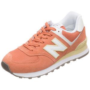 WL574-B Sneaker Damen, orange / weiß, zoom bei OUTFITTER Online