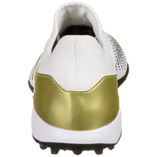 Predator 20.3 TF Fußballschuh Herren, weiß / gold, zoom bei OUTFITTER Online