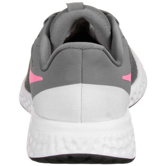 Revolution 5 Laufschuh Kinder, hellgrau / pink, zoom bei OUTFITTER Online