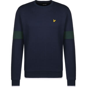 Tipped Crew Neck Sweatshirt Herren, dunkelblau, zoom bei OUTFITTER Online