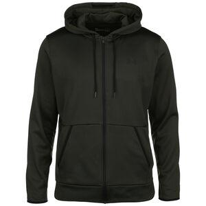 Fleece Trainingsjacke Herren, dunkelgrün, zoom bei OUTFITTER Online