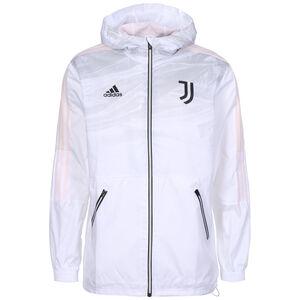 Juventus Turin Windbreaker Herren, weiß / rosa, zoom bei OUTFITTER Online