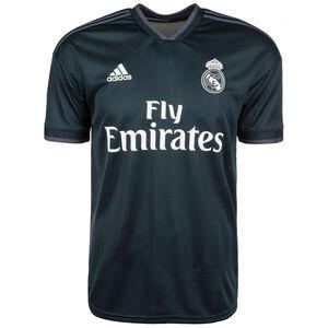 Real Madrid Trikot Away 2018/2019 Herren, Schwarz, zoom bei OUTFITTER Online