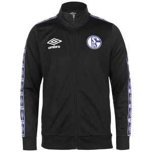 FC Schalke 04 Icon Tricot Trainingsjacke Herren, schwarz, zoom bei OUTFITTER Online