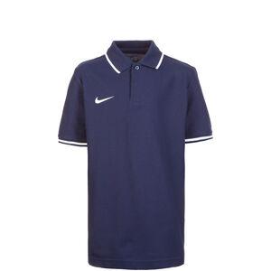 Club19 TM Poloshirt Kinder, dunkelblau / weiß, zoom bei OUTFITTER Online