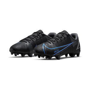 Mercurial Vapor 14 Academy MG Fußballschuh Kinder, schwarz / blau, zoom bei OUTFITTER Online