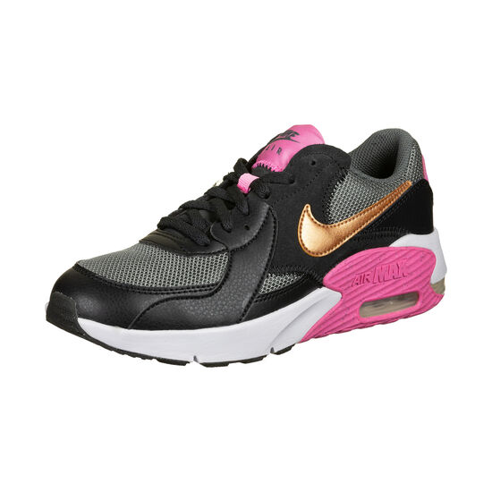 Air Max Excee Sneaker Kinder, schwarz / pink, zoom bei OUTFITTER Online