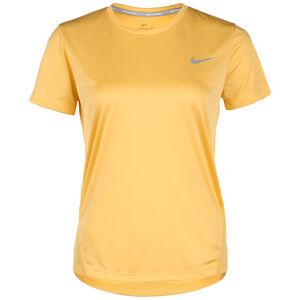 Miler Laufshirt Damen, gelb, zoom bei OUTFITTER Online