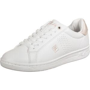 Crosscourt 2 F Low Sneaker Damen, weiß / rosa, zoom bei OUTFITTER Online