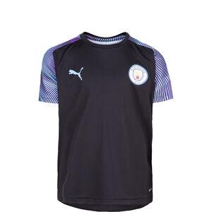 Manchester City Trainingsshirt Kinder, schwarz / blau, zoom bei OUTFITTER Online