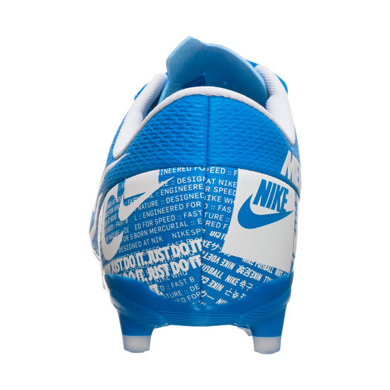 Mercurial Vapor XIII Academy MG Fußballschuh Kinder, blau / weiß, zoom bei OUTFITTER Online